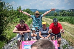 Musikerausflug - Draisinenfahrt 08.07.2017